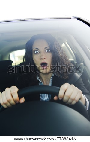 The scare - stock photo