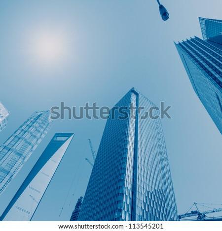 the scene of the city - stock photo