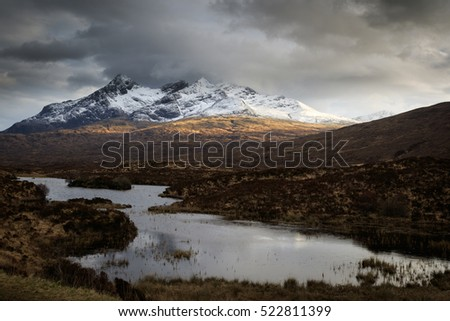 The Scottish Highlands, Isle of Skye, Scotland, UK