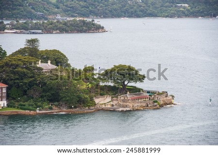 The seaside town - stock photo