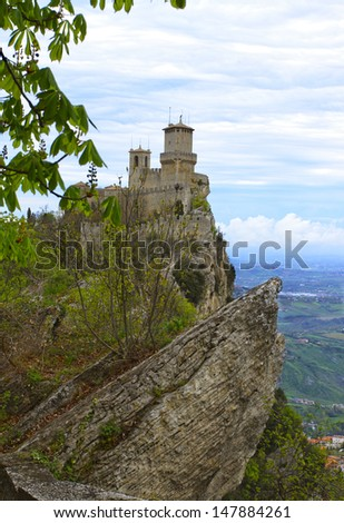 The second tower of San Marino