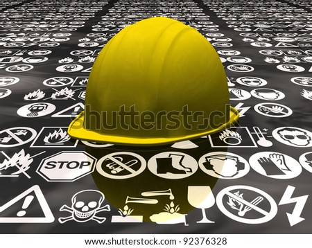 the security - stock photo