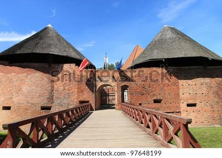 The settlement in Miedzyrzecz City - Poland. - stock photo