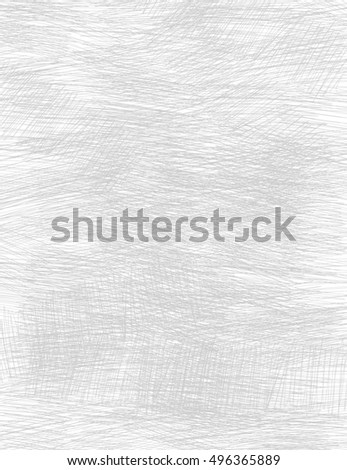 The shaded gray light background. White shading on a dark background. Drawing by hand. Graphic design. Abstract background. Chaotic hatching.