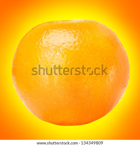 The shine orange