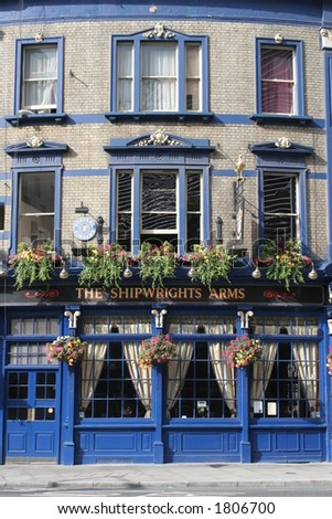 The Shipwright's Arms - stock photo
