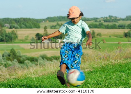 The small football player