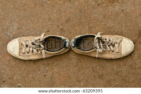The Sneakers - stock photo