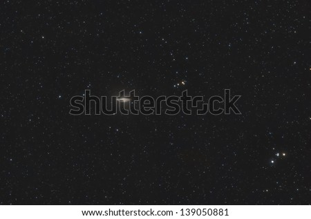 The Sombrero Galaxy - stock photo