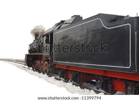 The Soviet steam locomotive of times of the second world war