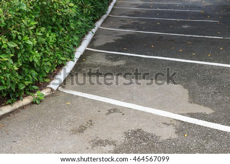 The Space for Car Park