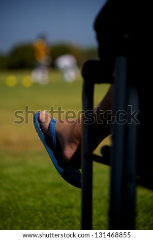 The Spectator - stock photo