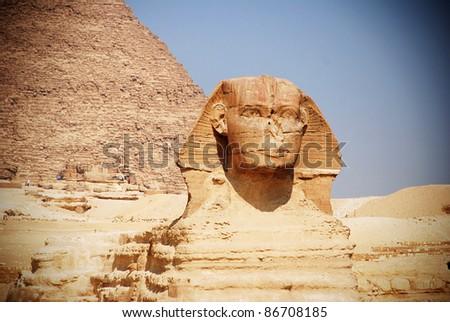 the sphinx - stock photo