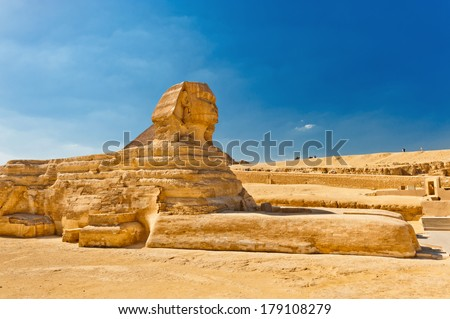 The Sphinx, Egypt Cairo - stock photo