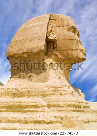The Sphinx of Giza