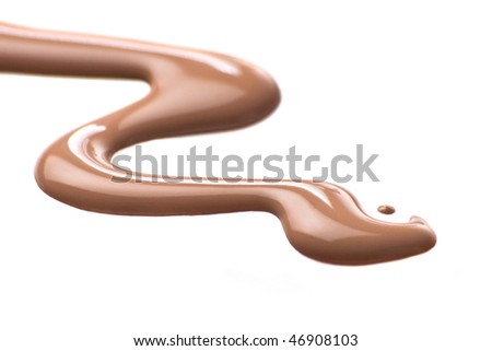The spilt liquid cosmetic tone for a skin - stock photo