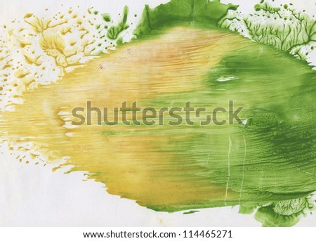 The spring wind - stock photo