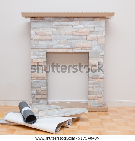 Stage diy do yourself making home stock photo 517548493 shutterstock the stage of diy do it yourself making home decorative mantelpiece for christmas holidays solutioingenieria Image collections
