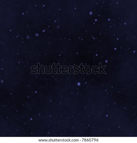 the star night sky - stock photo
