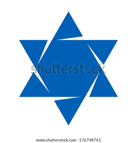 how to draw the star of david