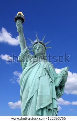 The Statue of Liberty, New York City - stock photo