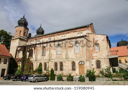 The Status Quo Synagogue in Trnava, Slovakia - stock photo