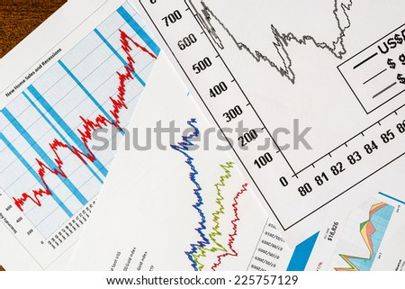 The stock price, the statistics on the table