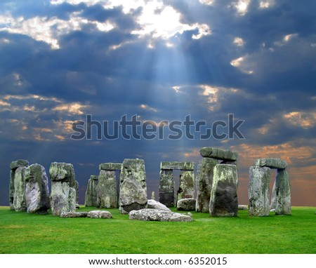 The Stonehenge in UK, it is still a mystery