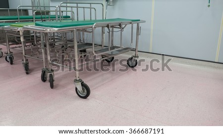 the stretcher for move patient