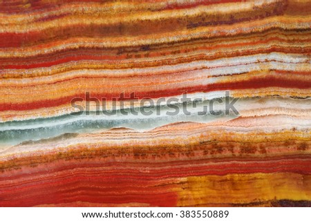 The structure (pattern) of the variegated onyx / texture of natural stone, onyx, marble - stock photo