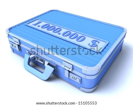 The Suitcase - stock photo
