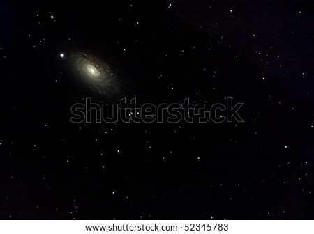 The Sunflower Galaxy, M63 - stock photo