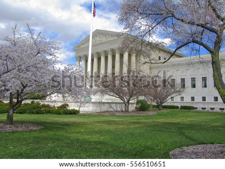 The Supreme Court Building, Washington, DC