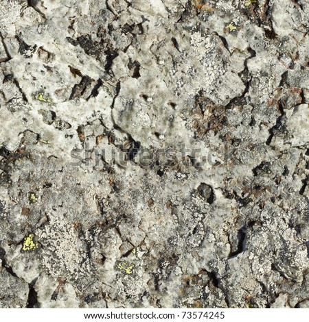 The surface of natural gray rock - seamless background - stock photo