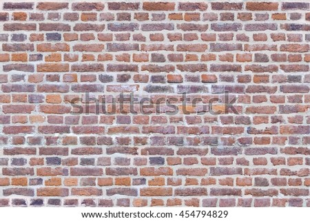 The surface of the colored bricks, seamless texture - stock photo