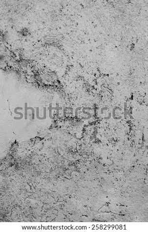 The surface of the concrete wall, background