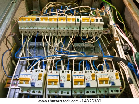 the switchboard - stock photo