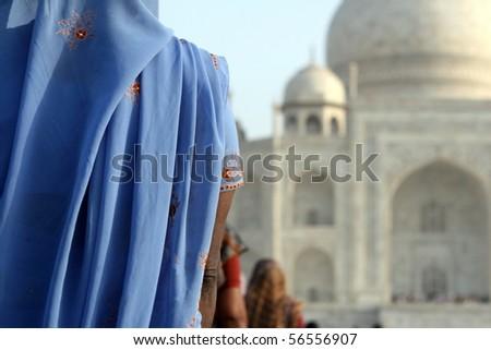 The Taj - stock photo