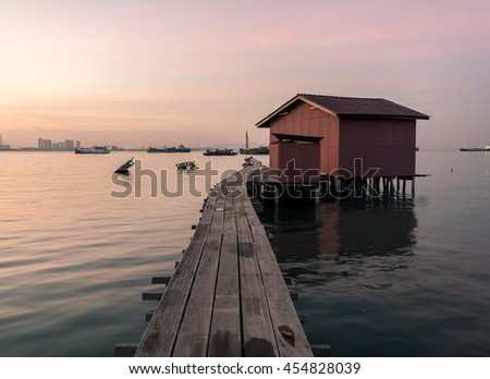 The Tan Clan Jetty in Penang