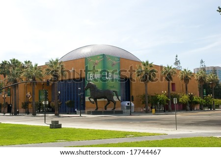 The Tech Museum of Innovation, or simply The Tech, is a museum located in the heart of Silicon Valley, in downtown San Jose, California - stock photo