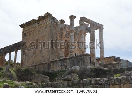 The Temple of Venus - stock photo