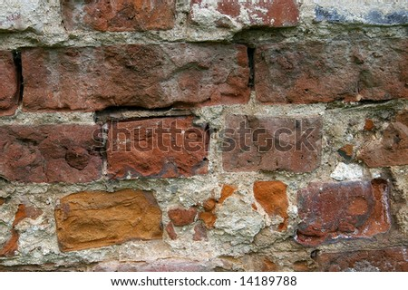 The texture of a wall - is a part of an interior