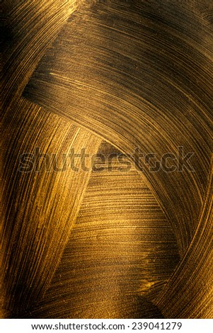 The texture of black gold - stock photo