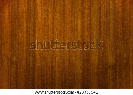 The texture of brown wooden surface. Pattern of wood for door, furniture, wall or panel - stock photo