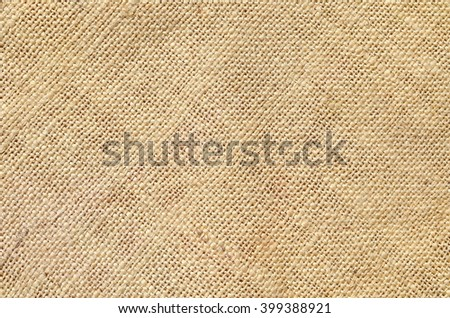The texture of jute canvas - stock photo