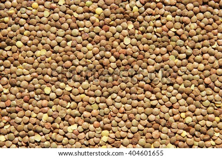 The texture of lentil - stock photo