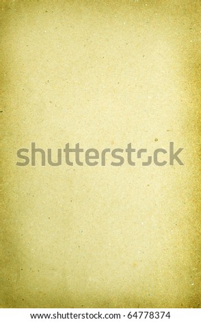 the texture of plain brown paper for the backgound and designs - stock photo