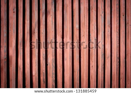The texture of the old wooden walls - stock photo