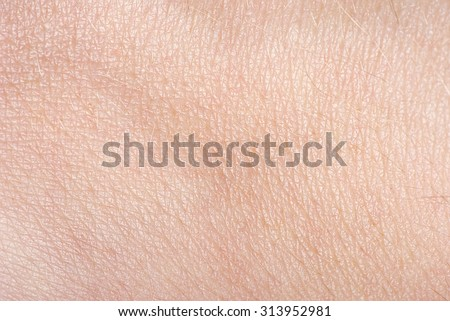 The texture of the skin - stock photo