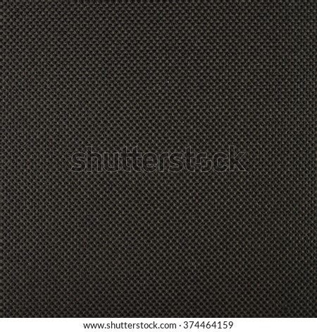 The texture of the textile material. Closeup photography. Without color correction. Shades of black